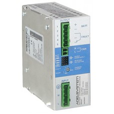 Battery Charger with CANbus J1939 4 charging Levels Input:115-230-277V AC Output: 12V 6A - 24V 5A DC, selectable. 120W Power Supply Output  - Model CB12245AJ