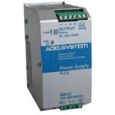 Flex Range Switching Power Supply - Input 230-400-500 Vac  Output 24V dc 7.5A (2 Phase) - Model FLEX17024B