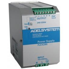 Flex Range Switching Power Supply - Input 115–230 Vac  Output  48 Vdc 7.5A - Model FLEX28048A