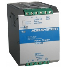 Flex Range Switching Power Supply - Input 115–230 Vac  Output  48 Vdc 12.5A - Model FLEX50048A