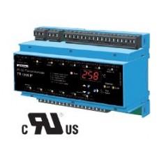 Temperature-Relays for Pt 100-Sensors, 12 Sensors, Digital Display, Interface RS 485, -199..850°C, AC/DC 24-240V - Model:TR1200IP (Code T224078)