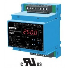 Temperature Relay Model: TR210 for 2 temperature sensors or 0/4 - 20 mA, 0-10V, 2 relays, analogue output (code: T224071)