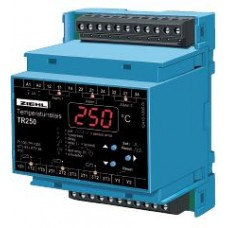 Temperature Relay Model TR250, 3 Sensors Pt 100 (RTD), Pt 1000, PTC or KTY, 3 Limits, alarm counter and preset programs for use with PTC thermistors only Universal power-supply AC/DC 24-240 V (Ordering Code T224190