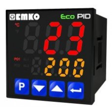 EMKO ECOPID PID Temperature Control Unit 2 relays and 1 SSR. DIN 48, Model ECOPID-4-5-2R.S.O