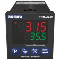 Emko Process Control Device with Universal Input and Dual Set DIN48, Model ESM-4430.1.20.0.1/01.02/0.0.0.0 •Aux: 100/240VAC 50/60Hz