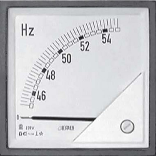 Hertz Frequency Meter : Frequency meters hz din model f fpx xcq
