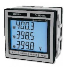 Multifunction Network Analyzer QUBO96 1-5A 100-400V + RS485 MODBUS Aux 230Vac Cl .5 -Model:Q96P3L005MCQ2