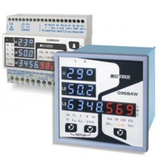 Multifunction Network Analysers Model Q96B4W with blue LED Display